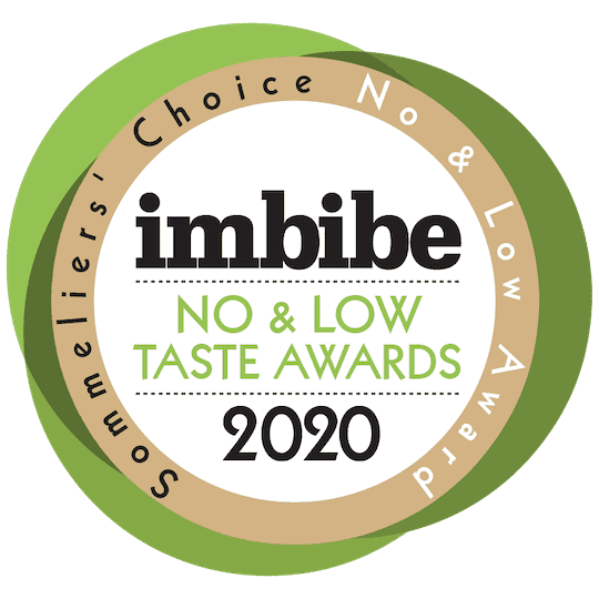 No/Low Taste Award Sommeliers Choice for REAL Kombucha